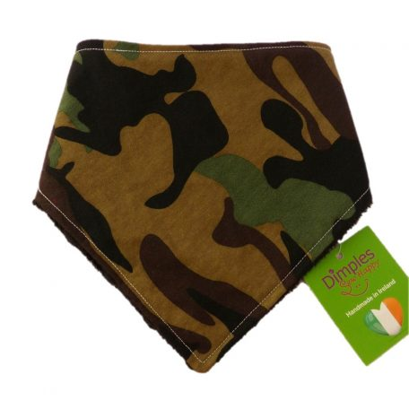 Dimples dog bandana Camouflage front