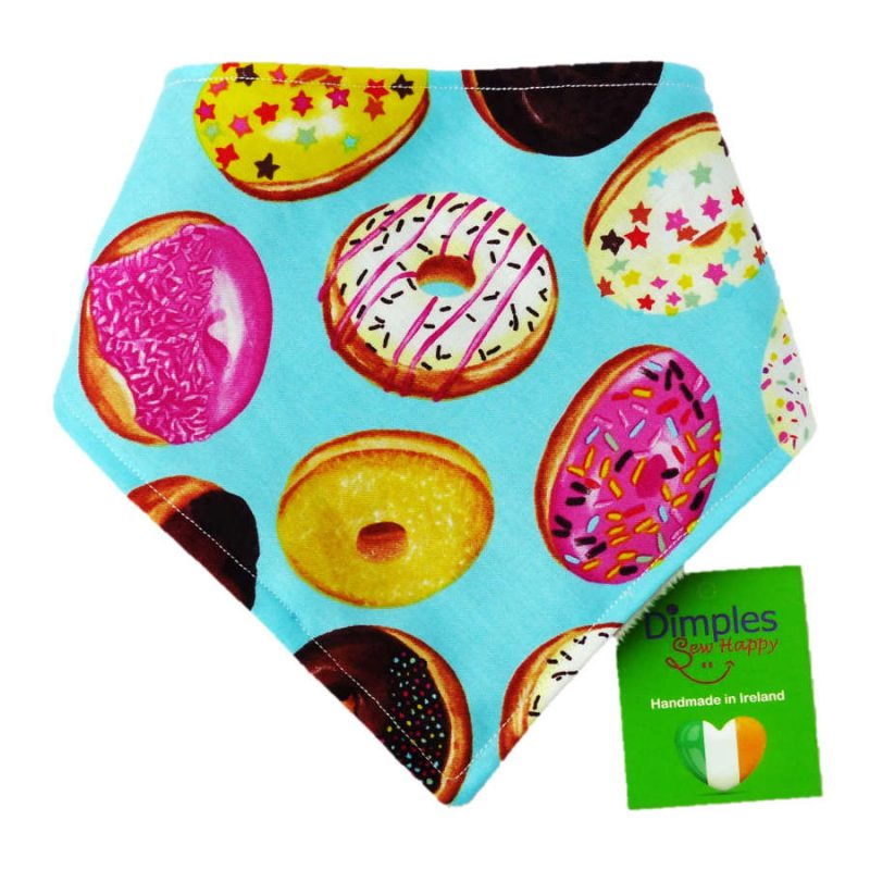 Donuts Dog Bandana Gift   Dimples Sew Happy