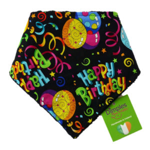 Happy Birthday Dog Bandana Gift | Dimples Sew Happy
