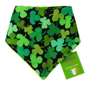 Lucky Shamrock Dog Bandana | Dimples Sew Happy