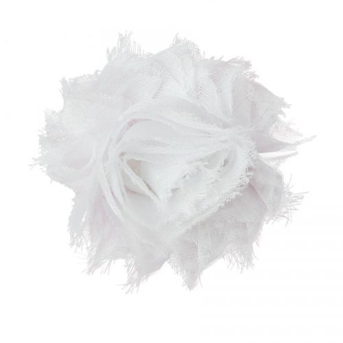 White Flower Dog Collar