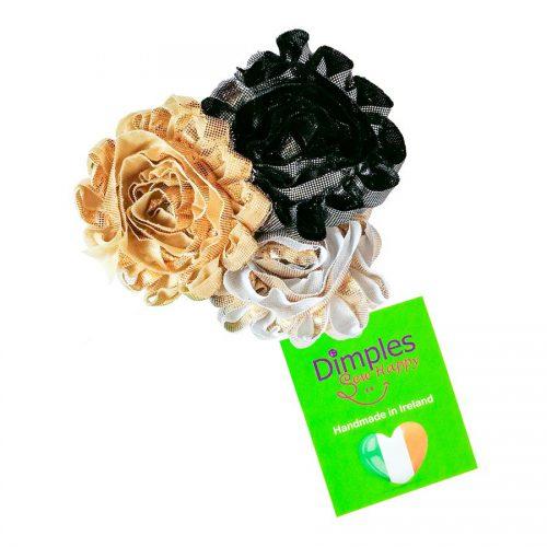 Glamour Flower Dog Collar