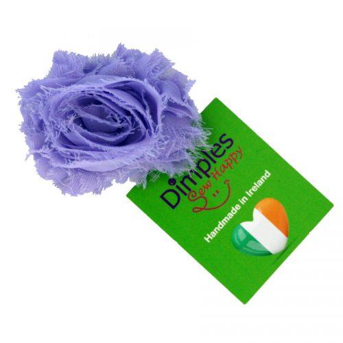 Lavender Flower Dog Collar