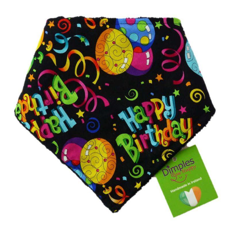 Happy Birthday Dog Bandana Gift