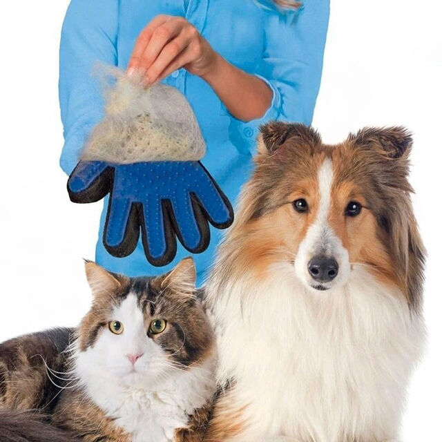 Silicone Pet Brush Glove Gloves